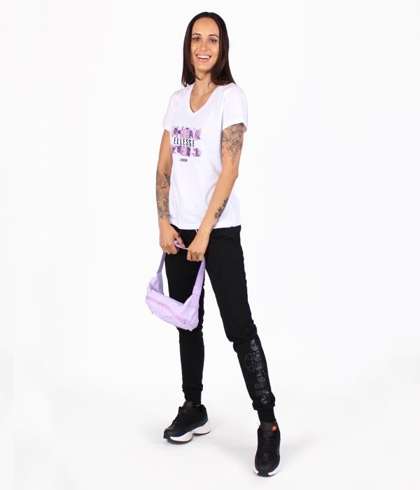 Crop T-Shirt Alberta Negro